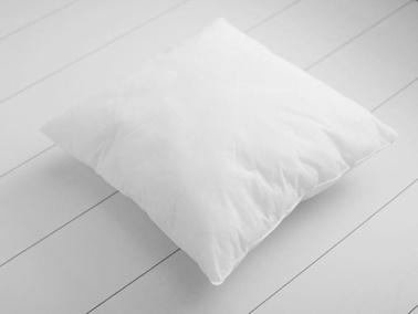 Real Homes Boncuk Silikonlu Kırlent İç Yastığı - 350 Gr Beyaz